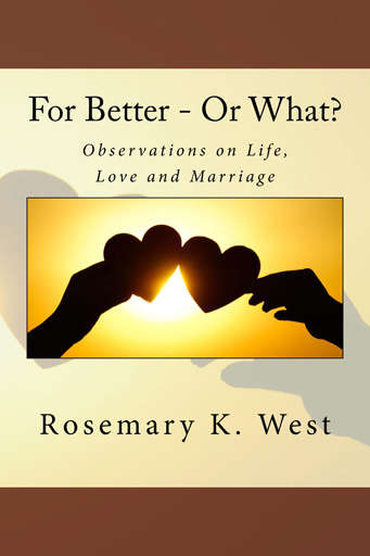 For Better - Or What? book cover